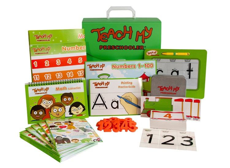 Teach My Preschooler Educational Learning Kit #TeachMy #EducationalLearningKits #Curriculum
