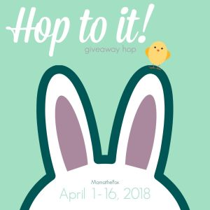 Enter to win the Hop To It giveaway hop!