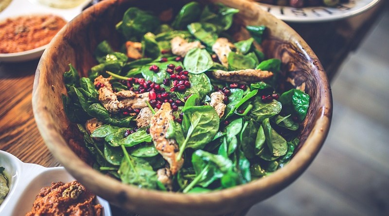 Green Leafy Salads for Meat & Seafood Lovers #MeatLover #Salad #ChickenSalad #Spinach
