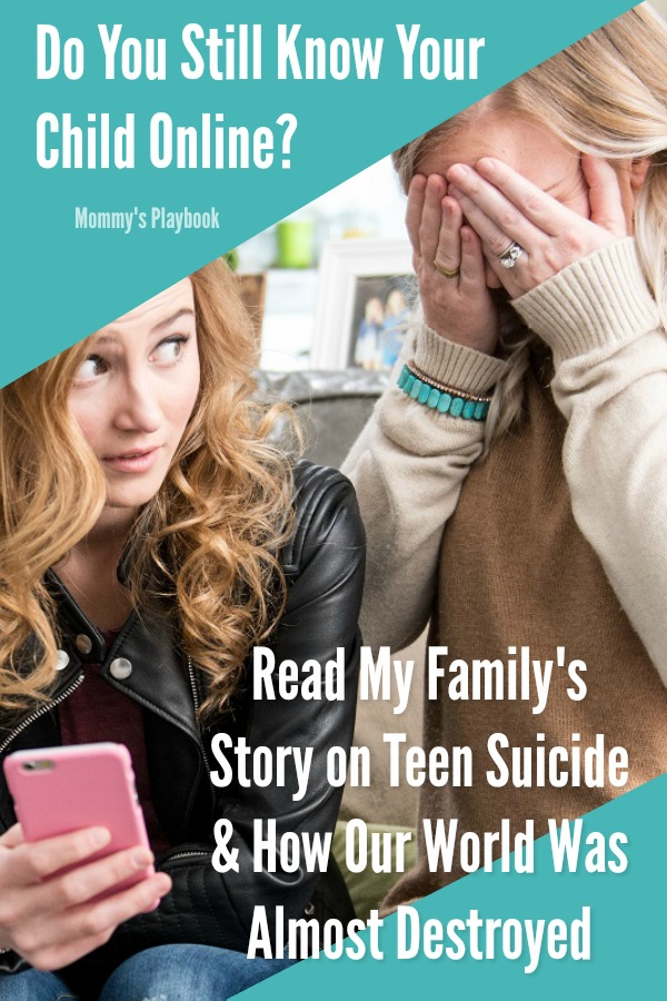 Visit the Blog to Learn How Mobile Internet Monitoring Can Save Your Child's Life!  #TeenSuicidePrevention #TeenSuicide #Parenting