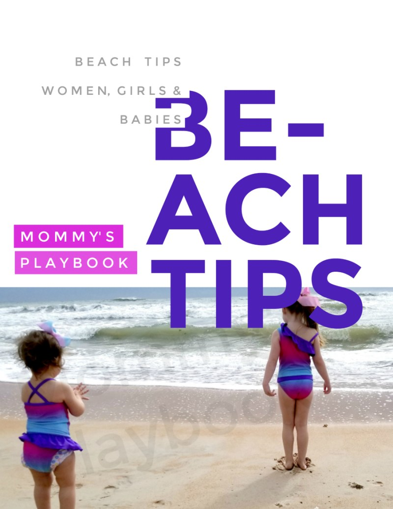 Beach Tips for Women, Girls, and Babies! Best Bathing Suits for Women. Swimsuits for Girls to go to the bathroom easier.  #SummerTips