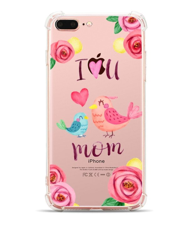 Beautiful Floral i-Phone case for mom