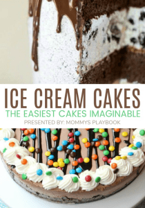 Ice Cream Cakes are quick and easy cakes that anyone can make. Ice Cream Cake Recipe Collection Presented By: Mommy's Playbook #IceCreamCake #IceCream