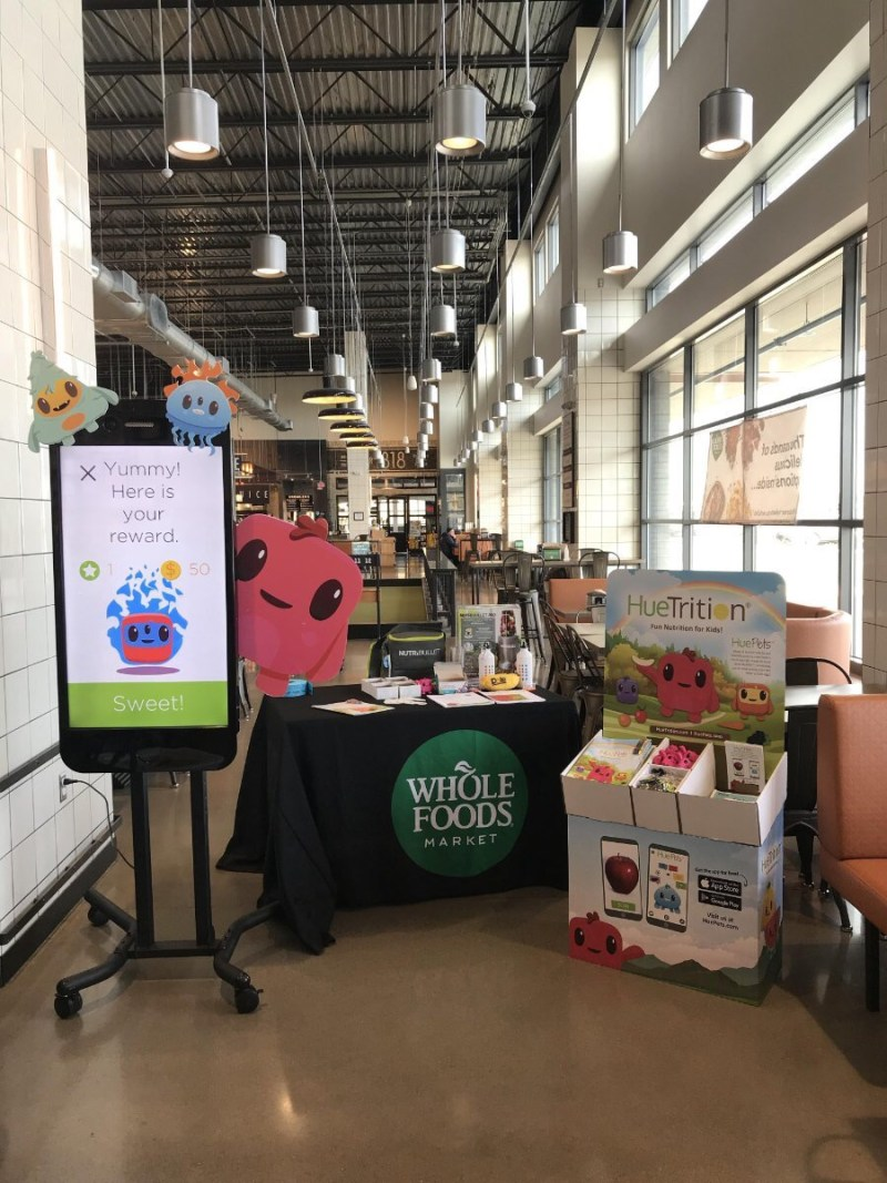 Whole Food Hue Scavenger Hunt at Whole Foods!