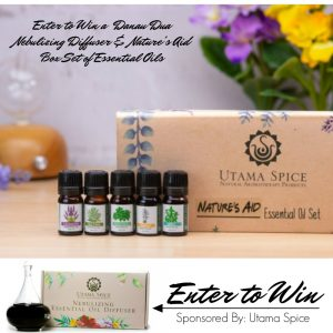 Enter to Win a Diffuser & Essential Oils from Utama Spice