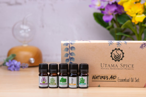 Enter to Win Danau Dua Nebulizing Diffuser & Nature's Aid Box Set of Essential Oils from Mommy's Playbook! #UtamaSpice #EntertoWin