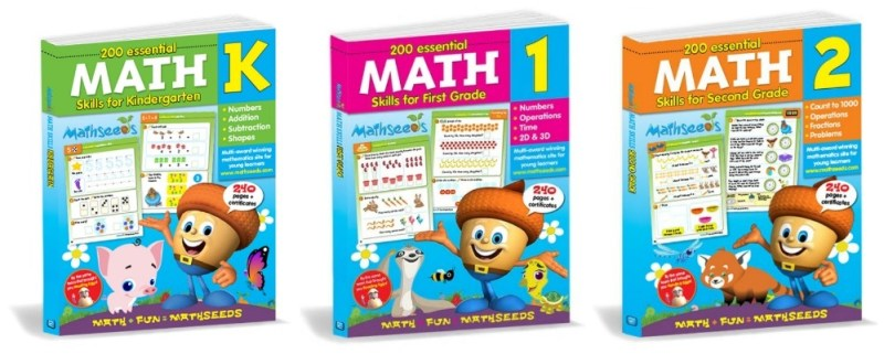Children who use Mathseeds are excited by math, have a deeper understanding of math concepts, and score higher in independent testing #Mathseeds #StudentWorkbooks #Homeschooling