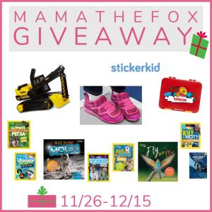 Mama the Fox Christmas Giveaway #EntertoWin #Sweeps