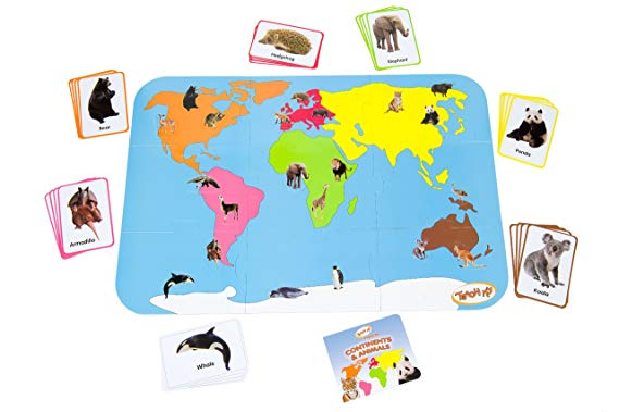 Teach My Continents & Animals