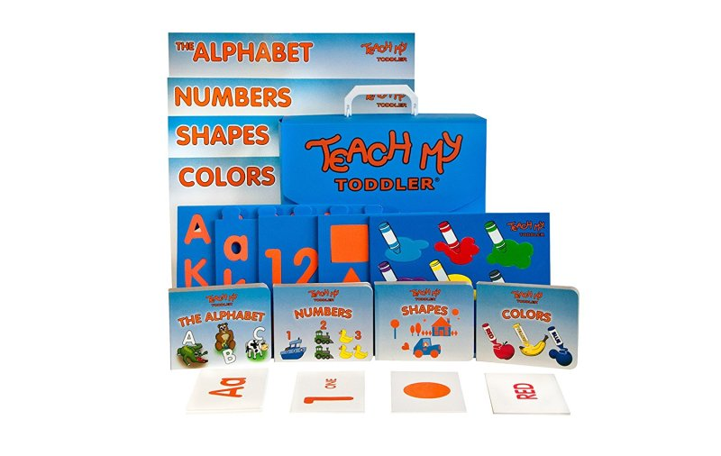 Teach My Toddler Deluxe Learning Kit by #TeachMy #EduGifts #Toddler