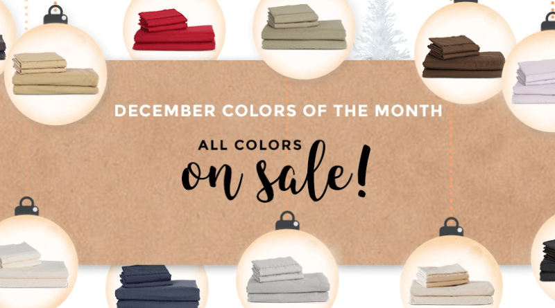 The Color of the Month is ANYTHING YOU WANT IT TO BE at PeachSkinSheets this December! Use the Code at Checkout to Save!