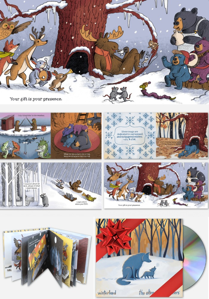 The Winterland CD by the Okee Dokee Brothers