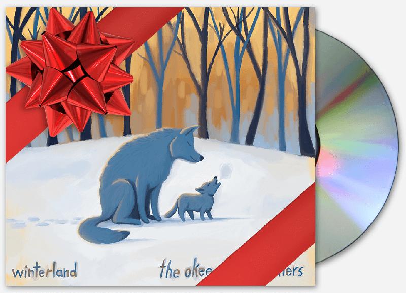 Okee Dokee Brothers Winterland CD #KidsMusic #OkeeDokeeBrothers #Winter
