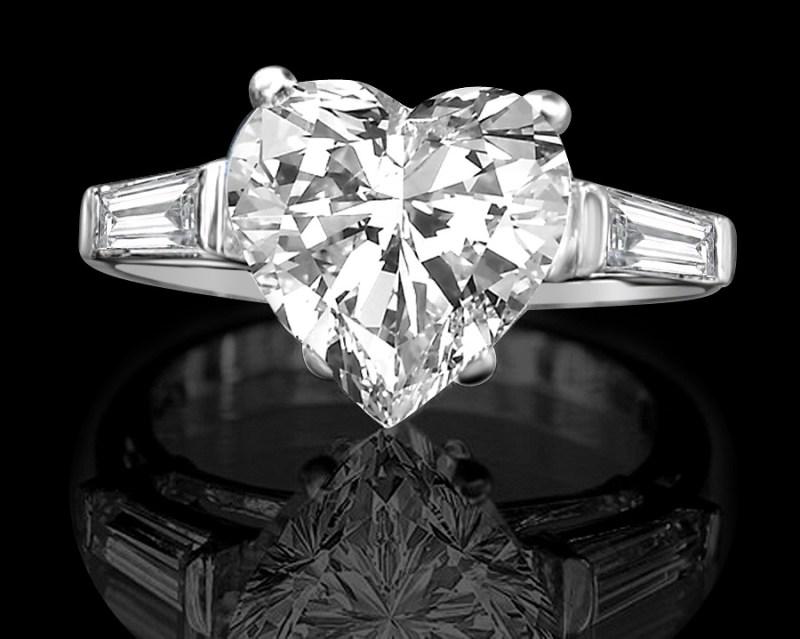 Heart Simulated Diamond Ring from Diamond Veneer #ValentinesDay #BestGiftsforHer