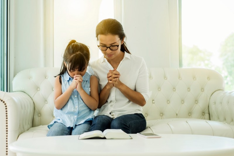 Praying through family trials and stuggles and leaving room for God's provisions #Prayer