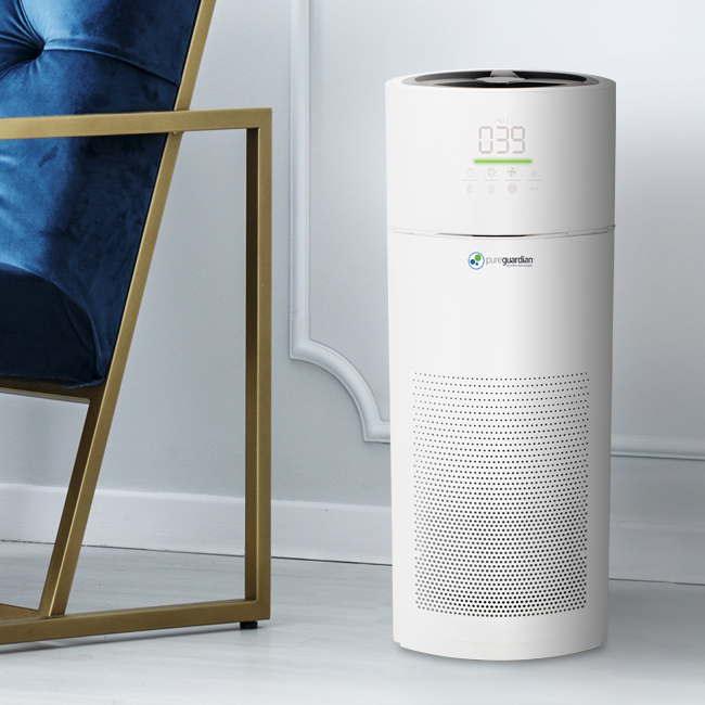 April showers brings more moss and mold growth, triggering allergy symptoms for the nearly 50 million Americans who suffer from seasonal allergies. #GuardianTechnologies #AirPurification