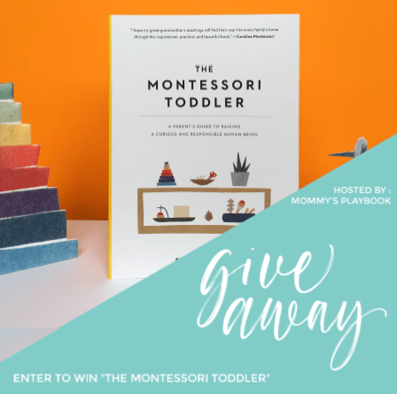 The Montessori Toddler Giveaway Event at Mommy's Playbook