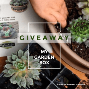 My Garden Box Giveaway at Mommy's Playbook