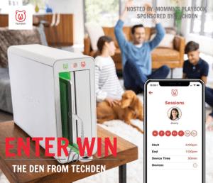 Enter to Win THE DEN from TechDen! #TechDen