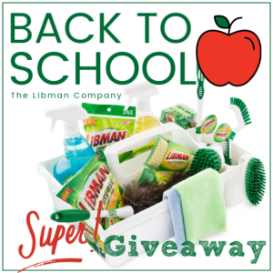 The Libman Company Back to School Giveaway Event at Mommy's Playbook