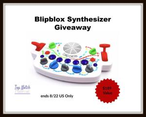Enter to Win Blipblox Toy Synthesizer for Kids @topnotchblog #blipblox @theblipblox #beatbox