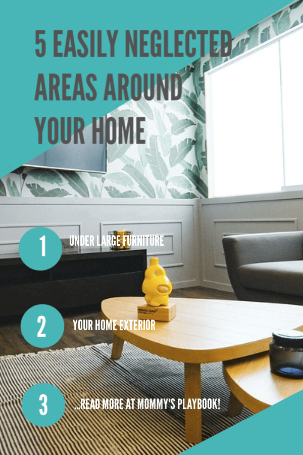 Home Cleaning Tips for the 5 Most Neglected Areas of Your Home