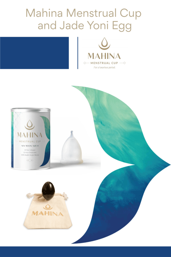 Mahina Cup is a reusable, bell-shaped menstrual cup that is worn internally and sits snuggly in the vaginal canal, just below the cervix. It collects moon blood, rather then absorbs it and it's easily emptied rather than changed.