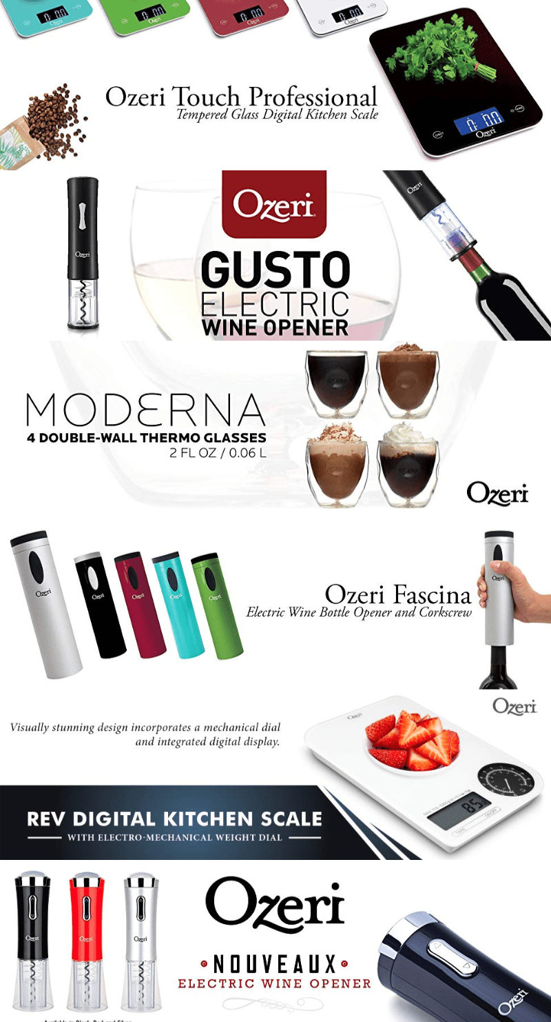 Ozeri is a specialty manufacturer of digital lifestyle products for the modern home. #Ozeri #OzeriProducts #OzeriLifestyle