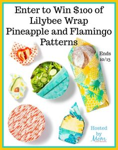 Lilybee Wrap is family owned and operated in New Zealand. They hand select the cotton fabric for the wrap. Then beewax, tree resin, and coconut oil is applied to each wrap.