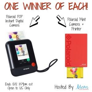 Polaroid Camera Printer Giveaway