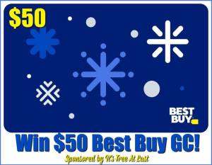 Enter to Win a Best Buy Gift Card