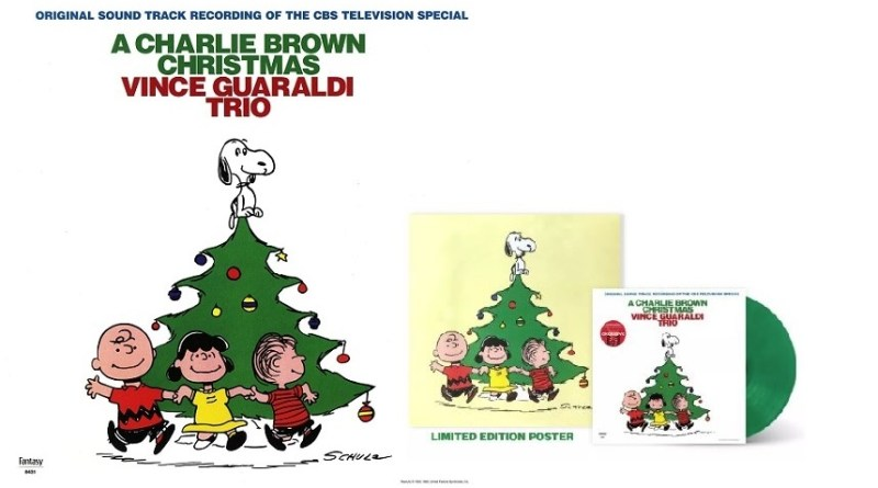 A Charlie Brown Christmas Vinyl Recording