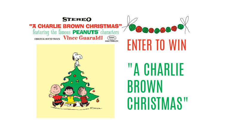 Charlie Brown Christmas Giveaway