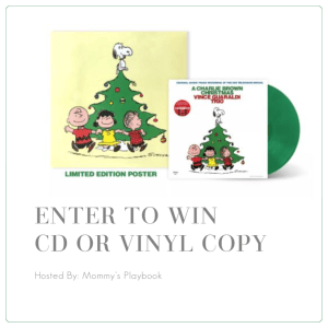 Enter to Win A Charlie Brown Christmas CD or Vinyl Copy at Mommy's Playbook