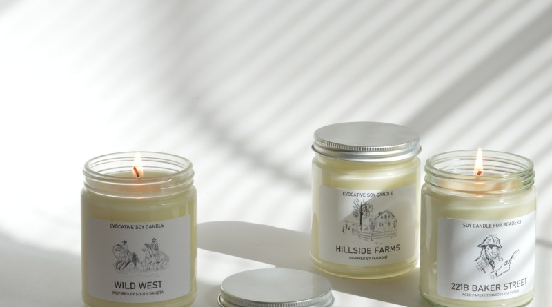 Enter to Win Evocative Candle from Chi Candle at Mommy's Playbook
