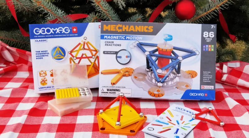 GeoMag Magnetic Motion Christmas Gift