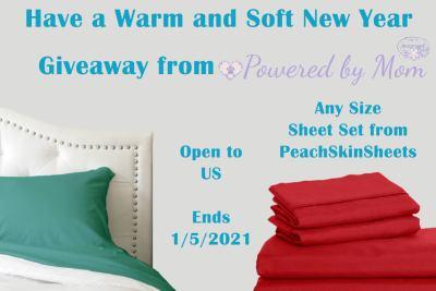 PeachSkinSheets PBM Giveaway