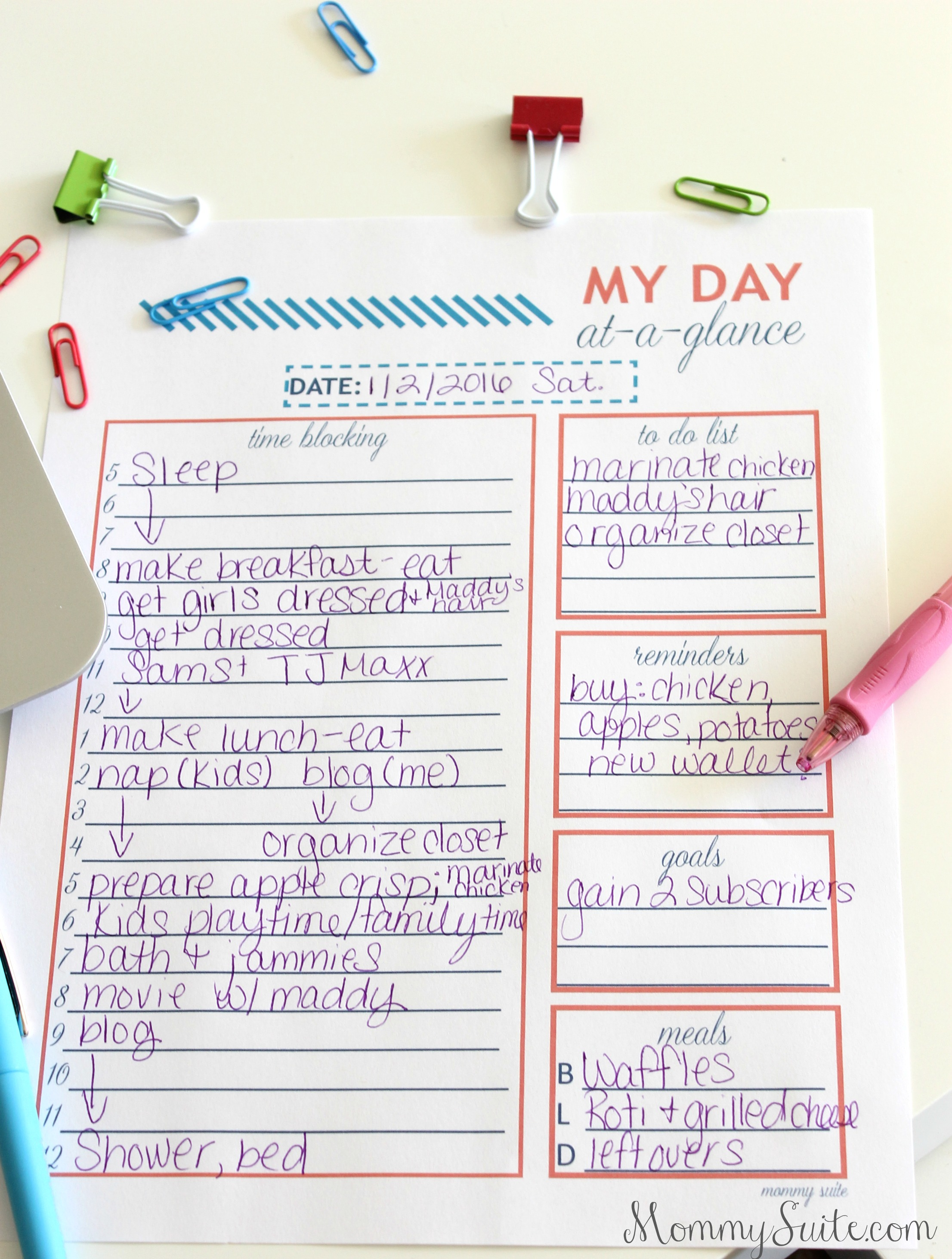 Plan Your Day Like A Boss