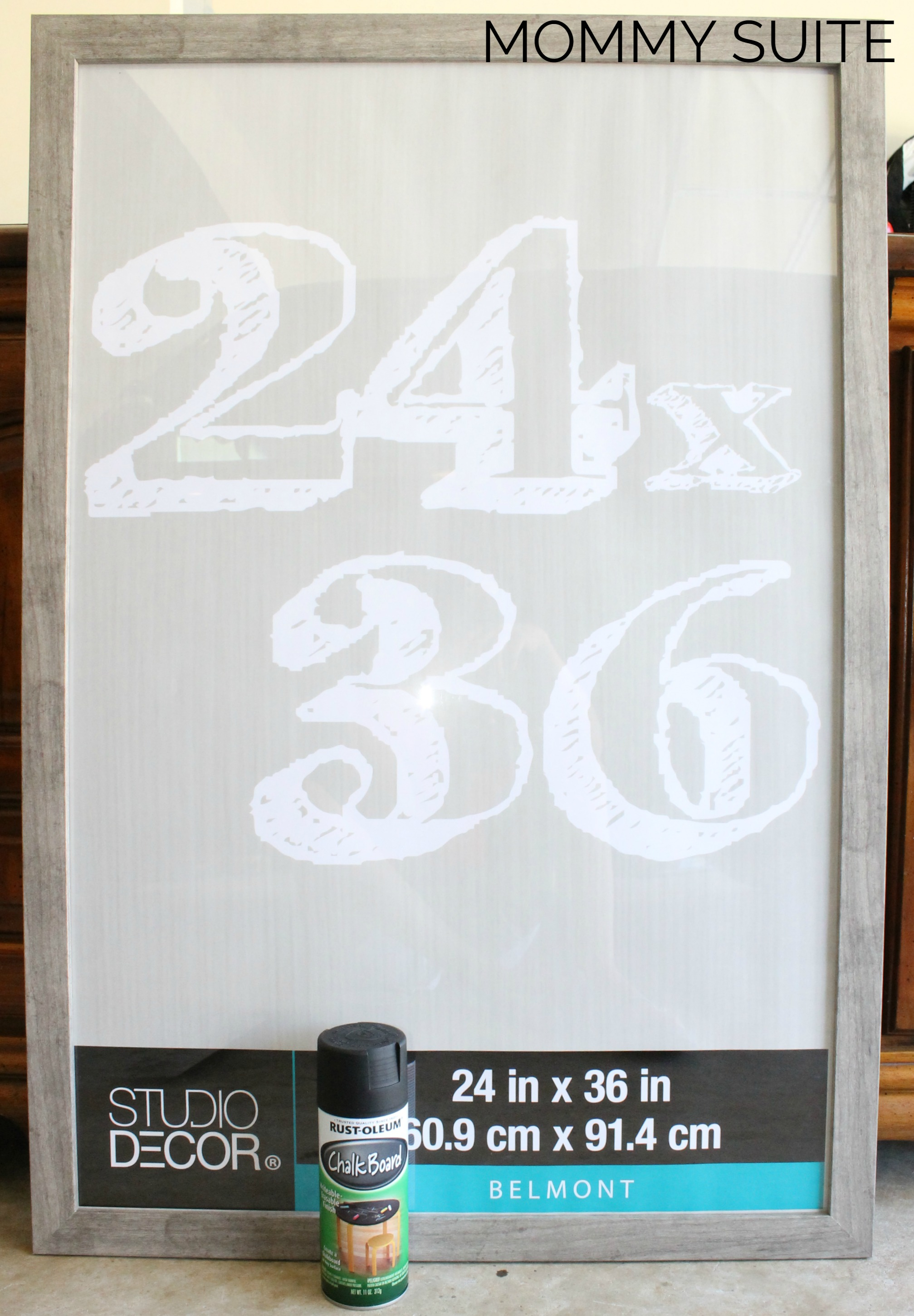 Diy Picture Frame Chalkboard Mommy Suite