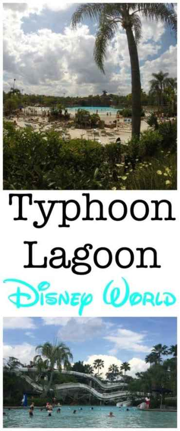 Typhoon Lagoon in incredible water park at Disney World