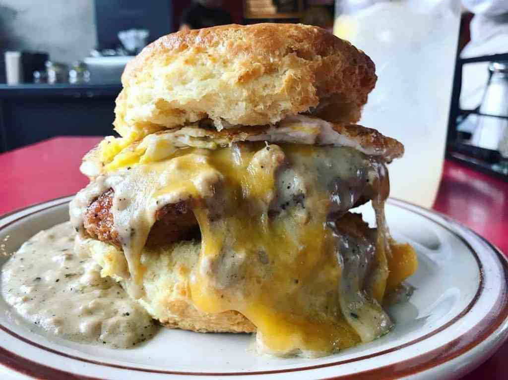 The Reggie Deluxe at Pine State Biscuits