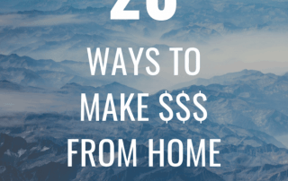 20 Ways to Make Money from Home