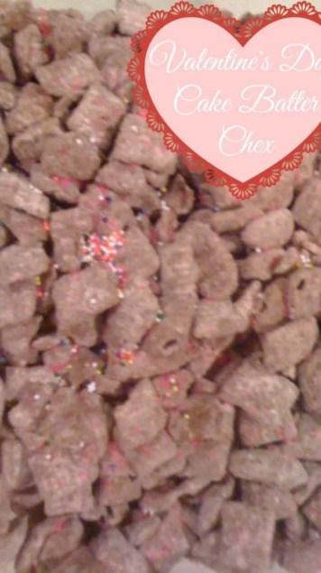 red velvet cake batter chex