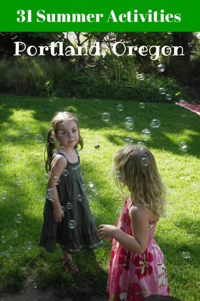 Summer Activities in Portland Oregon