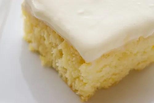 French Vanilla poke cake