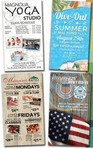 Shades of Green Resort sample schedule