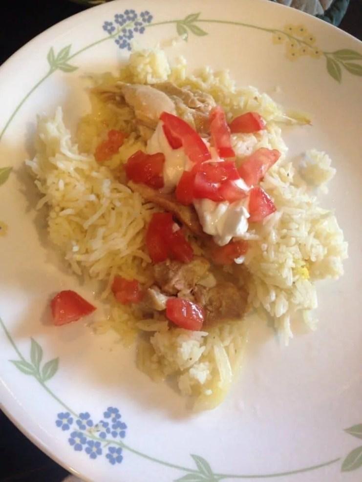 Crockpot Chicken Schwarma