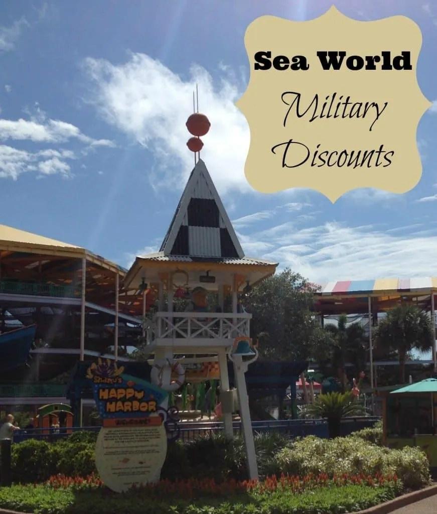 Sea World Military Discount