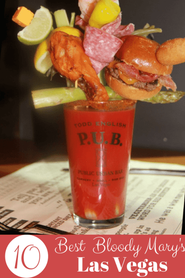10 best bloody Mary's in Las Vegas