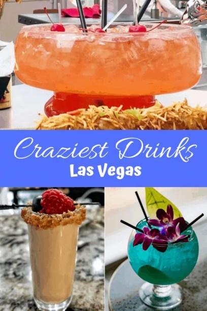 14 Crazy cocktails in Las Vegas